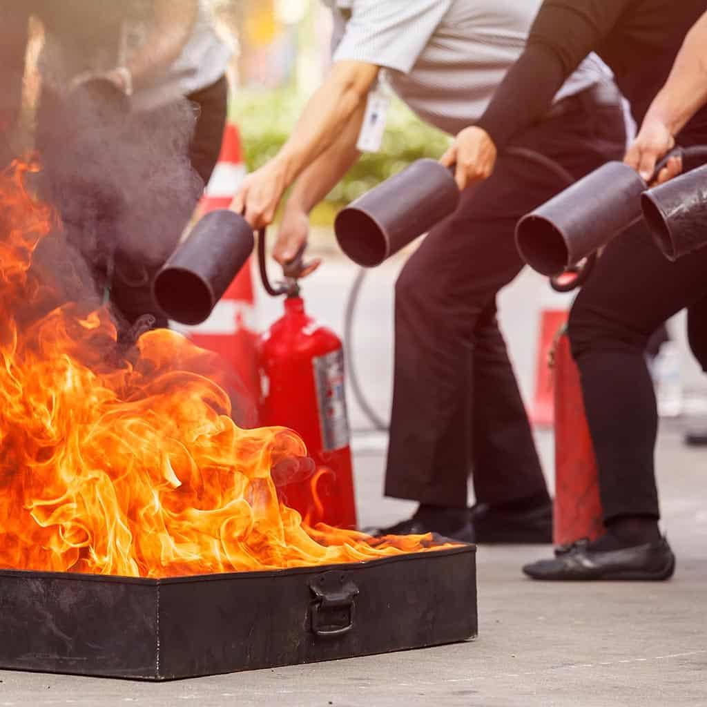 Bezpieczeństwo pracy - ochrona przeciwpożarowa