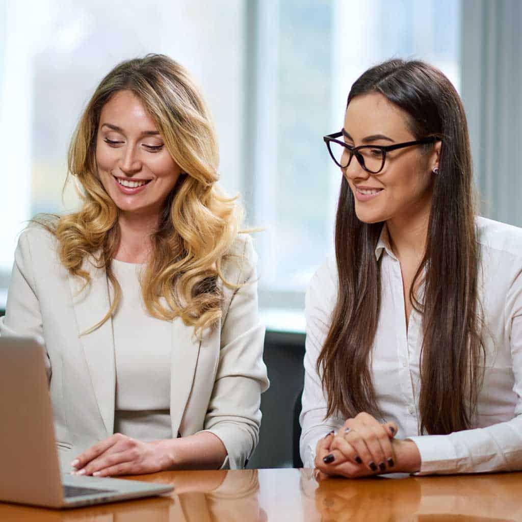 współpracujące kobiety
