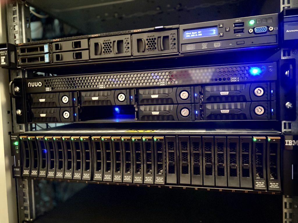 Outsourcing usług IT serwerownia