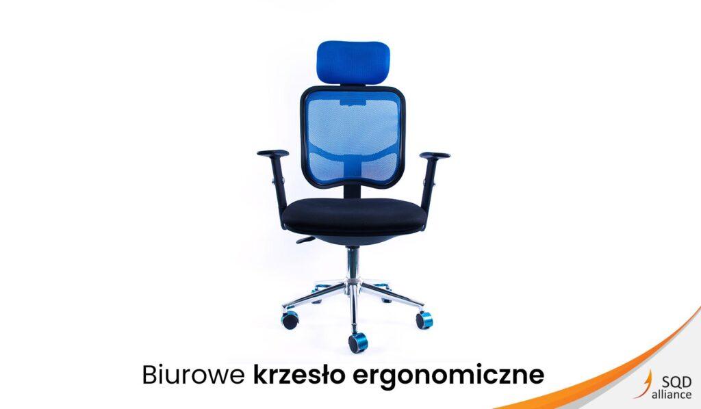 SQD Alliance Biurowe krzesło ergonomiczne