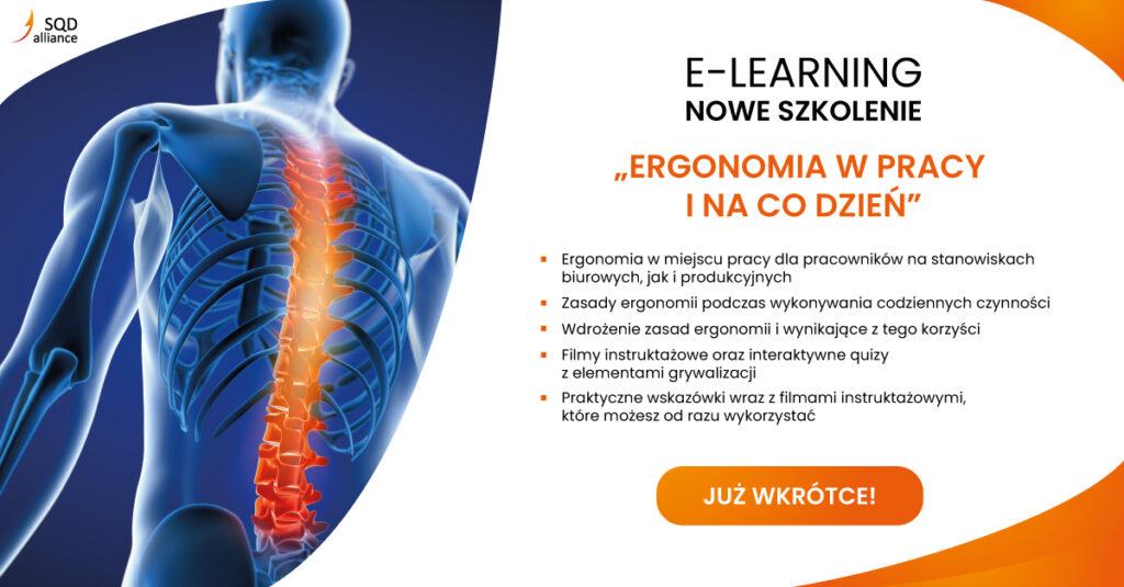 SQD Alliance E-learning Ergonomia w pracy i na co dzień