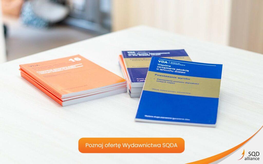 Wydawnictwo SQDA - publikacje VDA QMC