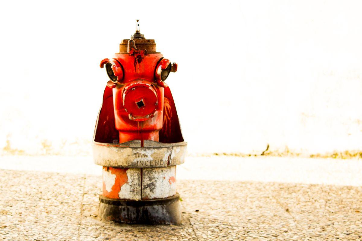 Ochrona przeciwpożarowa - system przeciwpożarowy