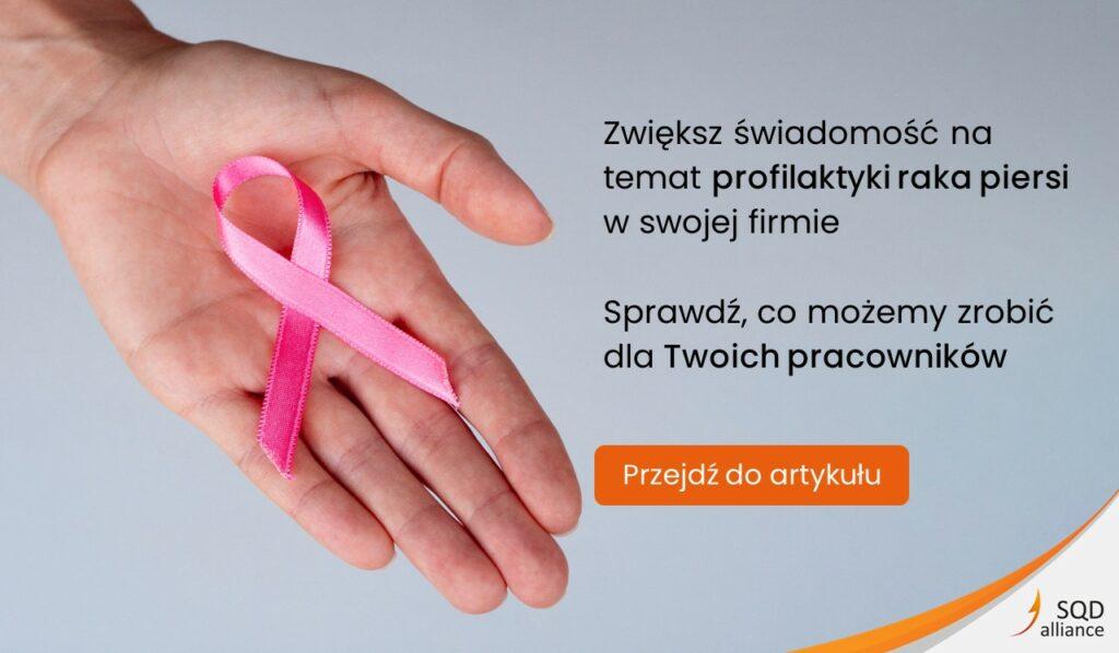 Profilaktyka raka piersi - nowotwór piersi